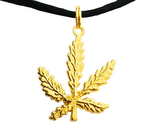 420 Leaf pendant
