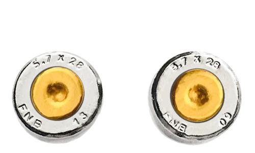 5.7 X 28 Ammo Stud Earrings (Specialty Centers)
