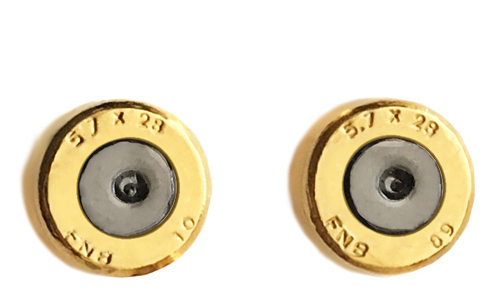5.7 X 28 Ammo Stud Earrings (Specialty Centers)